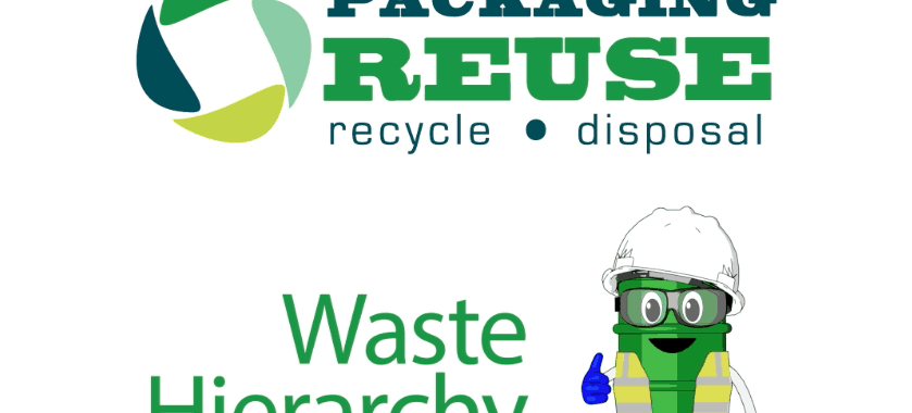 waste hierarchy - drum man has arrived!